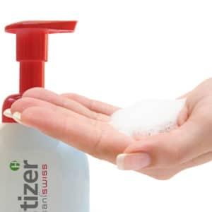 biosanitizer H ist ein ökologisches und feuchtigkeitsspendendes Desinfektionsmittel für die Händedesinfektion ohne Wasser.