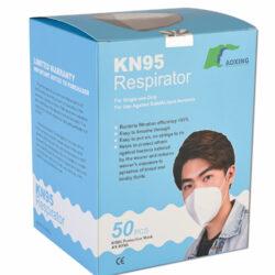 Atemschutzmaske KN95 / FFP2 (Einzelpreis: 4,50 €)